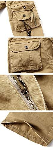 Nero Uomo Casual Fashion Pantaloni Saoye Lunghi In Da Cotone Con Giovane Lavoro wOaqfFn7