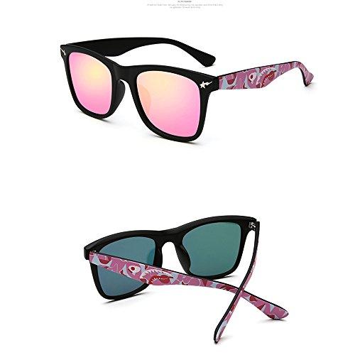 Lunettes soleil Lunettes lunettes C polarisées ZHIRONG Wayfarer Personnalité Couleur Couple de de soleil Conduite E de protection solaire E0xfBfw6q