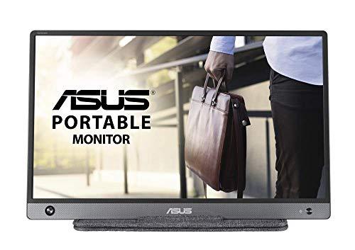 ASUS MB16AH Monitor portátil USB-C ASUS ZenScreen GO MB16AHP (15.6 Pulgadas, Full HD, Batería integrada, USB de Tipo C, Micro-HDMI, Antiparpadeo, Luz Azul de Baja Intensidad)