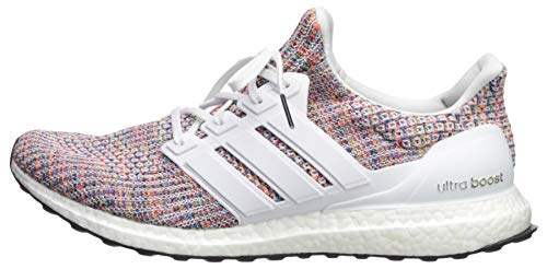 adidas Men's Ultraboost, White/Collegiate Navy, 4 M US by adidas (Image #5)