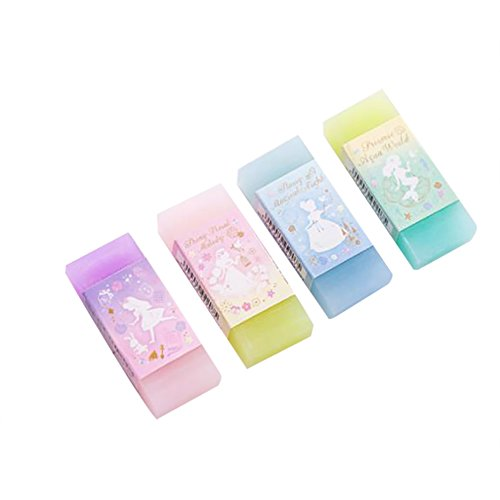 Uesae Rubber Erasers Pencil Rubbers School Office Stationery Desin Jelly Eraser Kid Children Pack of 1 5x2cm