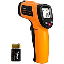 Helect Infrared Thermometer Temperature Gun -58°F to 1022°F (-50°C to 550°C), Non-contact Digital Laser, LCD Display