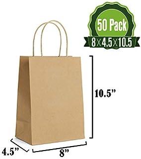 Amazon.com: Cartón Kraft caja de regalo 9