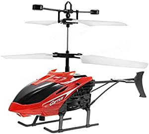 Flying Mini RC Infrared Induction Helicopter Aircraft Flashing Light