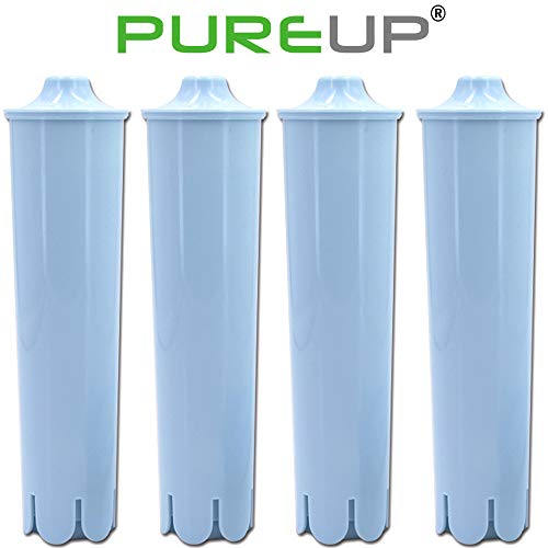 (Pureup Water Filter Compatible for Jura Claris Blue Capresso Clearyl Coffee Machines Replacement 4pack)