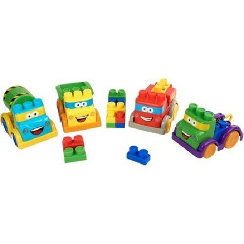 (Kid Connection 30 Piece Light & Sound Block Vehicles Play Set)