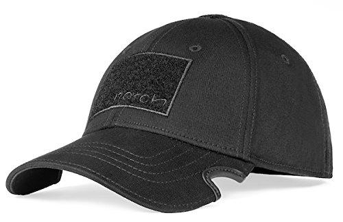 Notch Classic Fitted Black Operator Cap L/XL