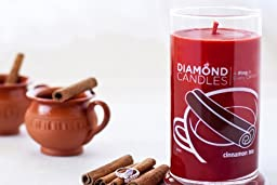 Diamond Candle Ring Candles (Cinnamon Tea Ring Candle)