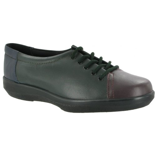 Amblers Fulham Lace Up Shoe / Womens Shoes (6 US) (Black) by Amblers (Image #2)