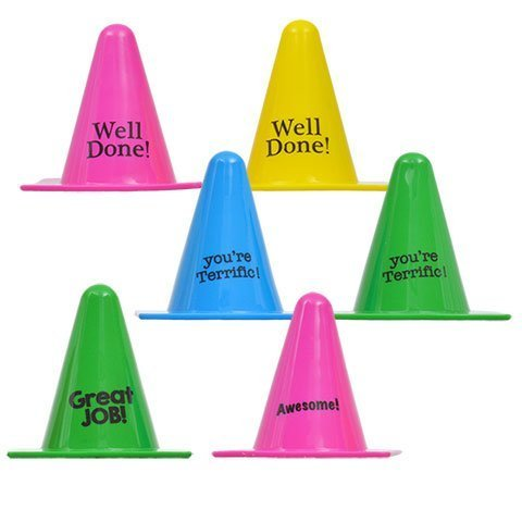 Back to School Toddler Pre-school Elementary School Classroom Teacher Room Motivational Reward 2 Cones