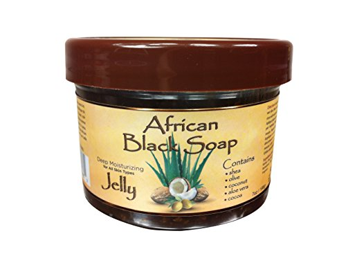 Okay African Black Soap Jelly, 7 Ounce