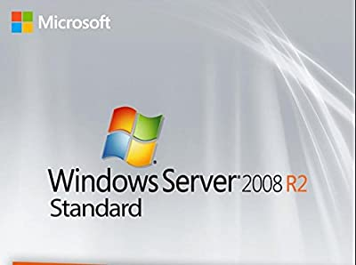 Microsoft Windows Server 2008 R2 64 Bit English Standard version with lifetime license,for PC download