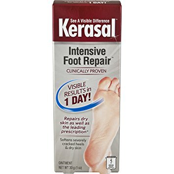 Kerasal Intensive Foot Repair, 1 Ounce (Pack of 4) ()