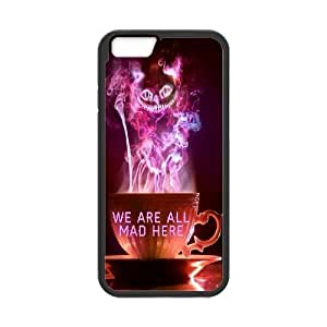 """We Are All Mad Here Personalized Case for Iphone6 Plus 5.5"""", Customized We Are All Mad Here Case"""