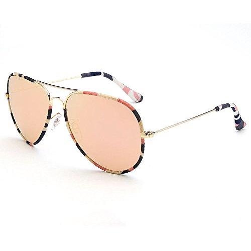 Gafas de Gafas de para sol conducir con sol con mujer para montura Gafas sol sol A sol de Gafas de protección de Gafas con Color A UV400 visera grande polarizadas SSSX 5Y6wvv