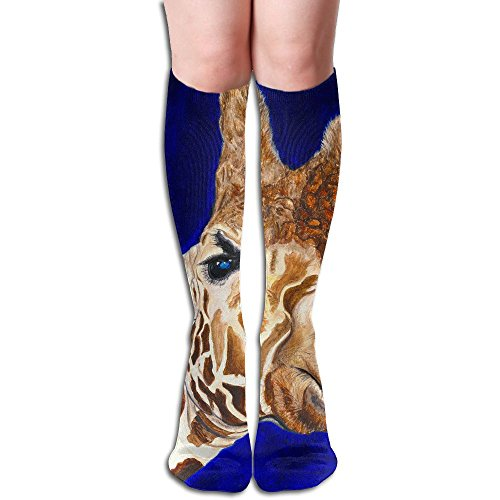 Long Stocking Cute Giraffe Women's Over Knee Thigh