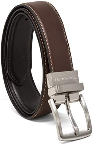 TAHARI Boys Reversible Belts for Kids