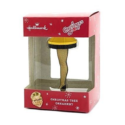 Hallmark A Christmas Story Leg Lamp Christmas Ornament - Amazon.com: Hallmark A Christmas Story Leg Lamp Christmas Ornament