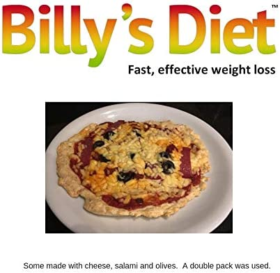 5 Diet Pizza Kits - Sauce and Base Low Calorie Low carb and high Protein Suitable for ketosis dispatched by Amazon to get to You Quicker