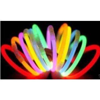 800 Braccialetti luminosi Dj Fluorescenti Starlight Compribene + omaggi