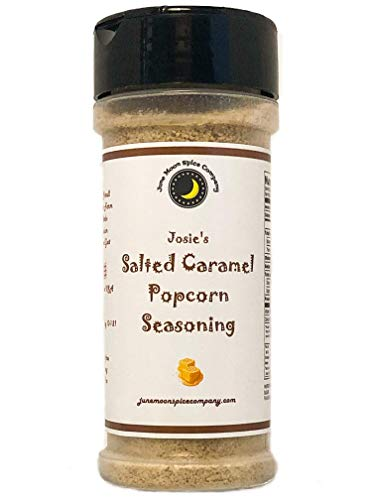 Premium SALTED CARAMEL Popcorn Seasoning - Crafted in Small Batches with Farm Fresh Herbs for Premium Flavor and Zest