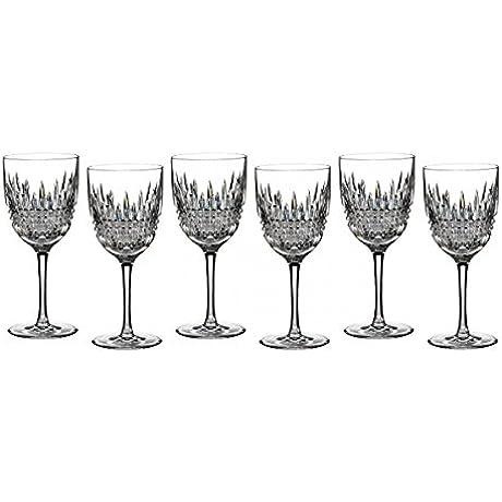 Waterford Lismore Diamond Goblet Set Of 6