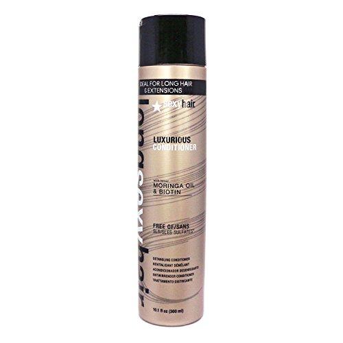 SEXYHAIR Long Luxurious Detangling Conditioner, 10.1 Fl Oz (Best Detangling Conditioner For Long Hair)