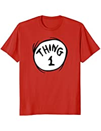 Thing 1 Emblem RED T-shirt