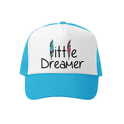 Grom Squad Kids Trucker Hat - Mesh Adjustable Baseball Cap for Boys & Girls - Baby, Infant, Toddler, School-Age Sizes (2-5yrs (Big), Little Dreamer