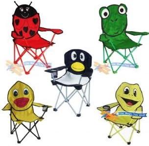 Bentley Kids Plier Chaise Pliante pour CampingPlageJardin