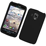 Eagle Cell SCPNR930LS01 Barely There Slim and Soft Skin Case for Pantech Perception R930 - Retail Packaging - Black