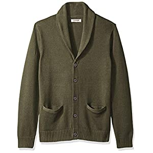 Amazon Brand – Goodthreads Men's Soft Cotton Shawl Cardigan Sweater