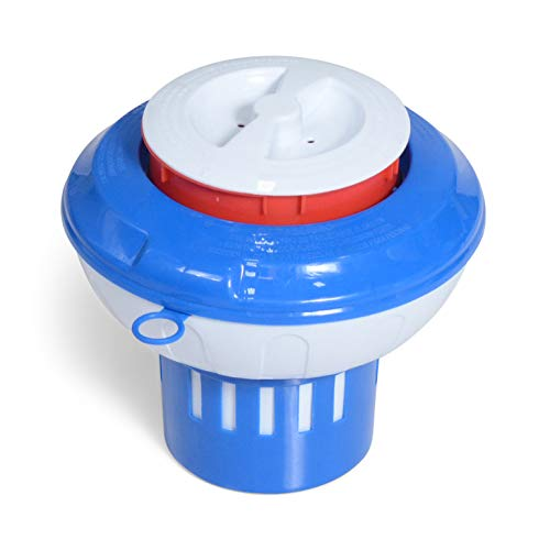 (Milliard Chlorine Floater with -Red Empty Gauge- Floating Chlorinator Dispenser)