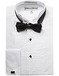 Men's Regular Fit Wingtip Collar Tuxedo Shirt – Long sleeve & French Cuff Available