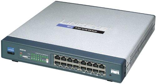 Cisco RV016 16-port 10/100 VPN Router - Multi WAN by Cisco