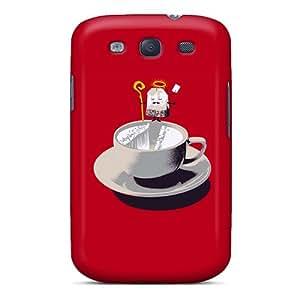 Fashionable MSomi17667WVWGV Galaxy S3 Case Cover For Tea Bag Cartoon Protective Case