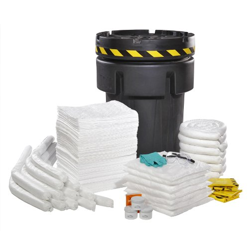SpillTech SPKO-95-RC 194 Piece Oil-Only 95 gallon Recycled Spill Kit by SpillTech