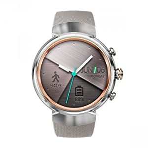 ASUS ZenWatch 3 WI503Q 1.39-inch AMOLED Smart Watch (White Rubber Strap)