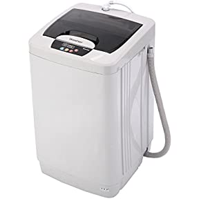 Giantex Small Compact Portable Washing Machine 2 Cu.Ft Fully Automatic 12 LBS Spin Single Tube Compact
