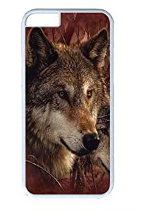 Forest Wolves PC For SamSung Galaxy S6 Phone Case Cover White