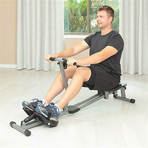HZYYZH Roeien Machine Thuis Indoor Roeien Machine Fitness Apparatuur Opvouwbare Abdominale Trainer 12 Speed Verstelbare…