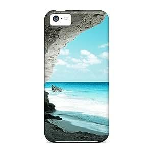 New Tpu Hard Case Premium Iphone 5c Skin Case Cover(amazing Seashore)