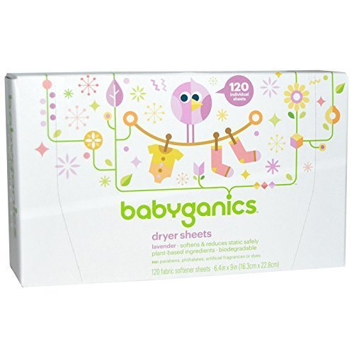 babyganics dryer sheets - 5