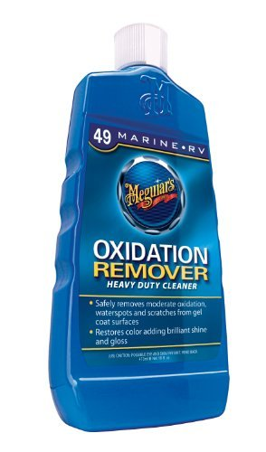 Heavy Duty Oxidation Remover - Meguiar's M4916 Marine/RV Heavy Duty Oxidation Remover - 16 oz.