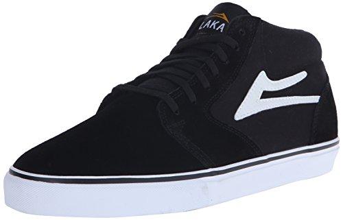 Lakai Fura High black/white suede Schuhe Größe US 9,5