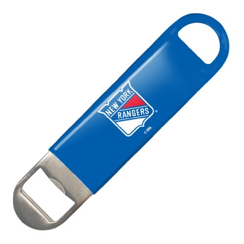 NHL New York Rangers Vinyl Covered Long Neck Bottle Opener