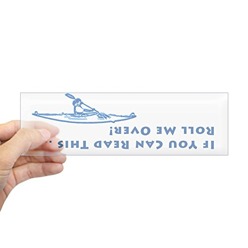 "CafePress Flip Kayak 10""x3"" Rectangle Bumper Sticker Car Decal"