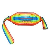 Mofek Inflatable Water Swim Belt Float Waist Belt for Kids and Adults