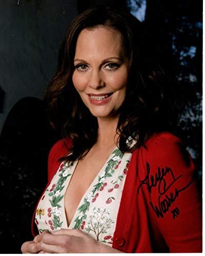 (LESLEY ANN WARREN signed autographed photo)