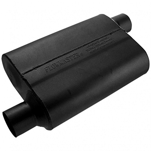 Flowmaster 42543 40 Series Muffler - 2.50 Offset IN / 2.50 Offset OUT - Aggressive Sound